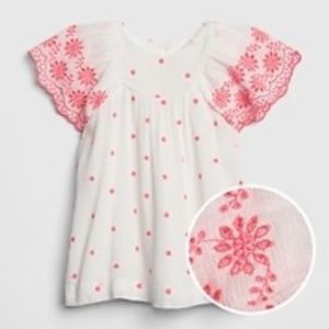 Toddler Girl Linen Dress